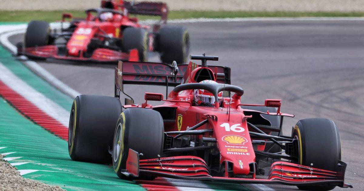 Charles Leclerc, Carlos Sainz, Ferrari