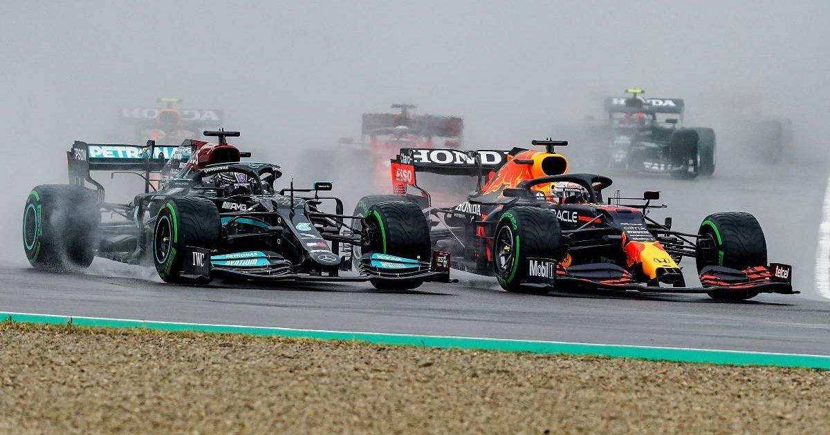 Lewis Hamilton Max Verstappen, 2021 Emilia Romagna Grand Prix, Imola