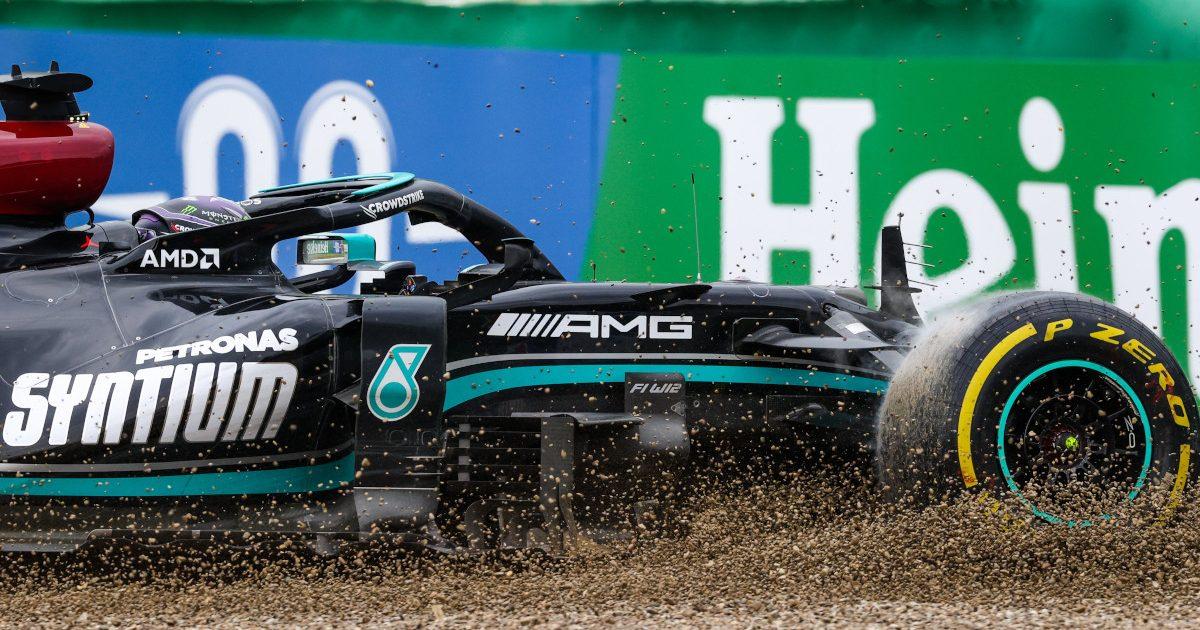 Lewis Hamilton gravel