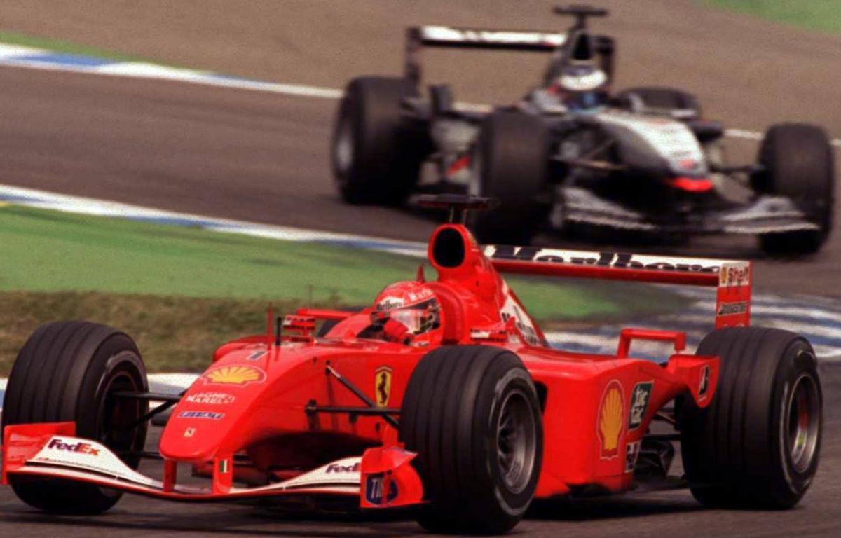 Michael Schumacher Mika Hakkinen