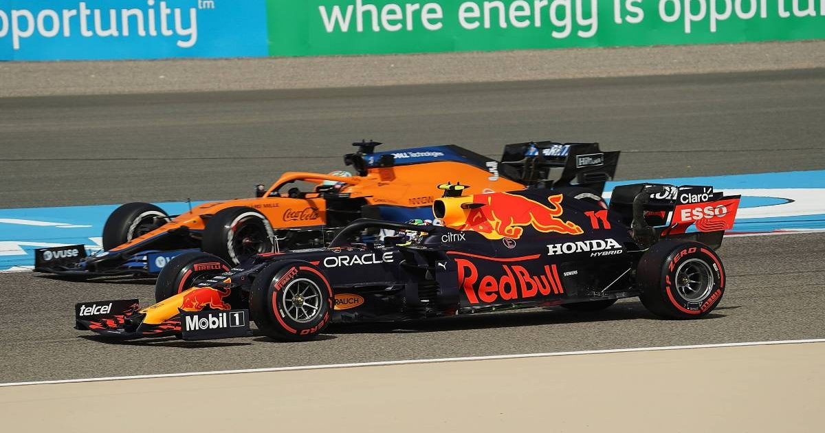 Daniel Ricciardo Sergio Perez