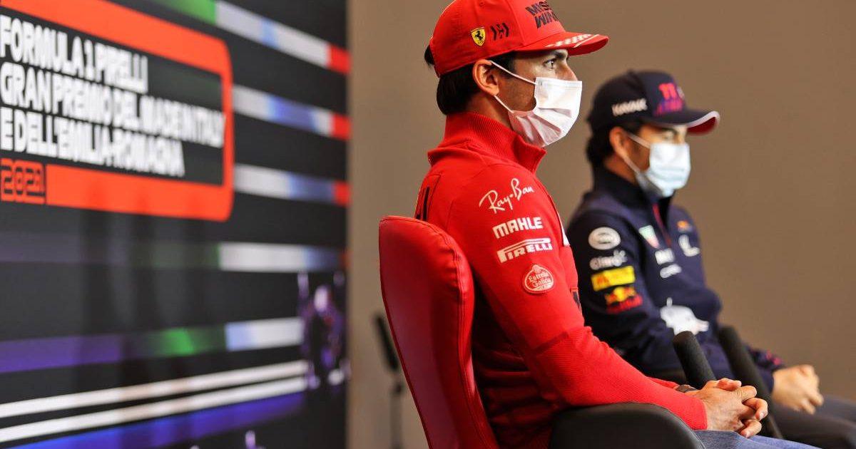 Carlos Sainz Sergio Perez