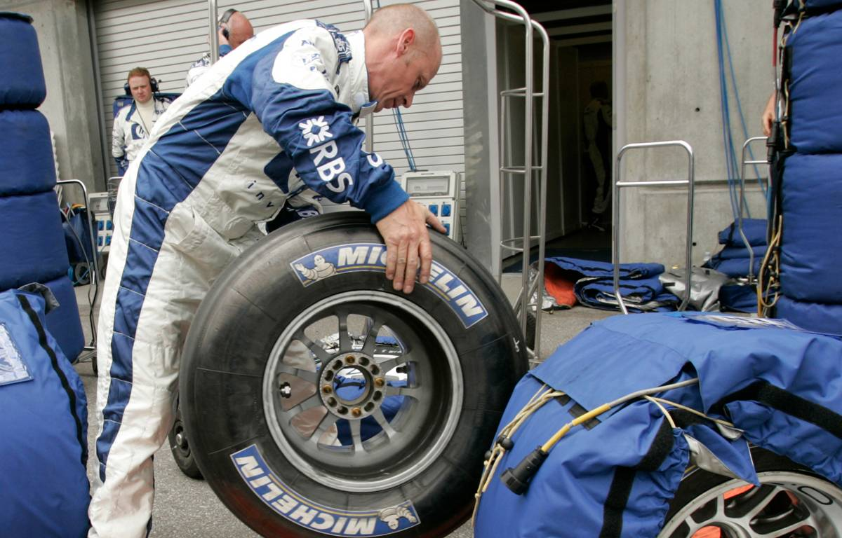 Michelin tyres 2005 US GP