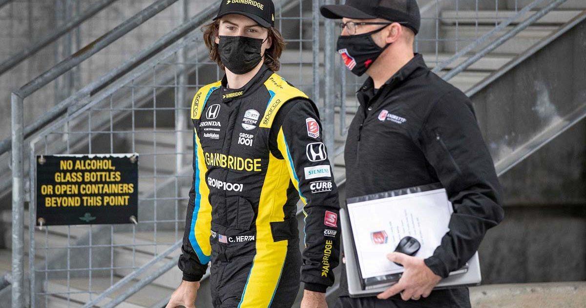 Colton Herta, Mario Andretti