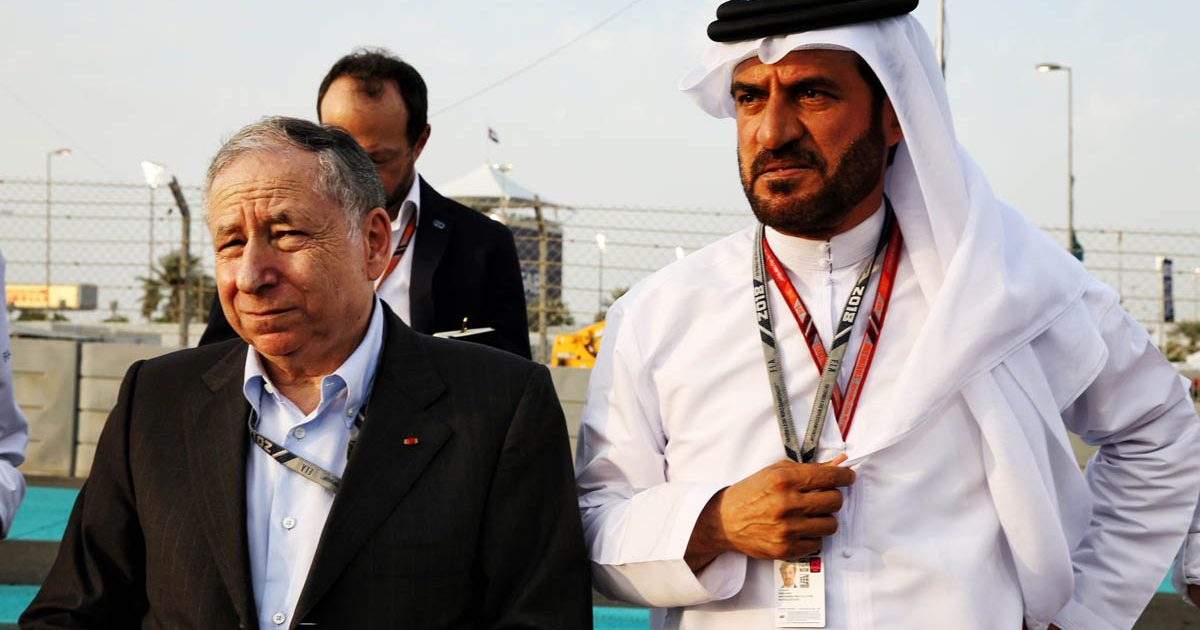 Jean Todt and Mohammed Bin Sulayem