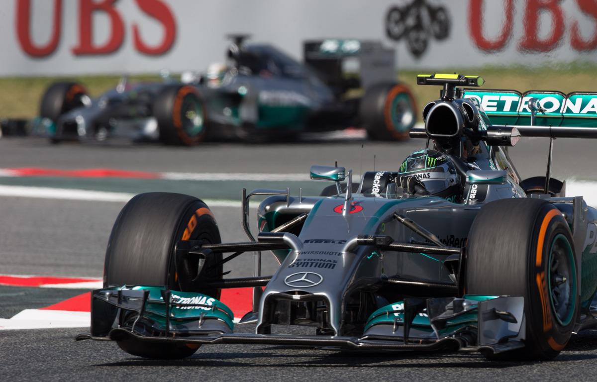 Mercedes 2014 1-2