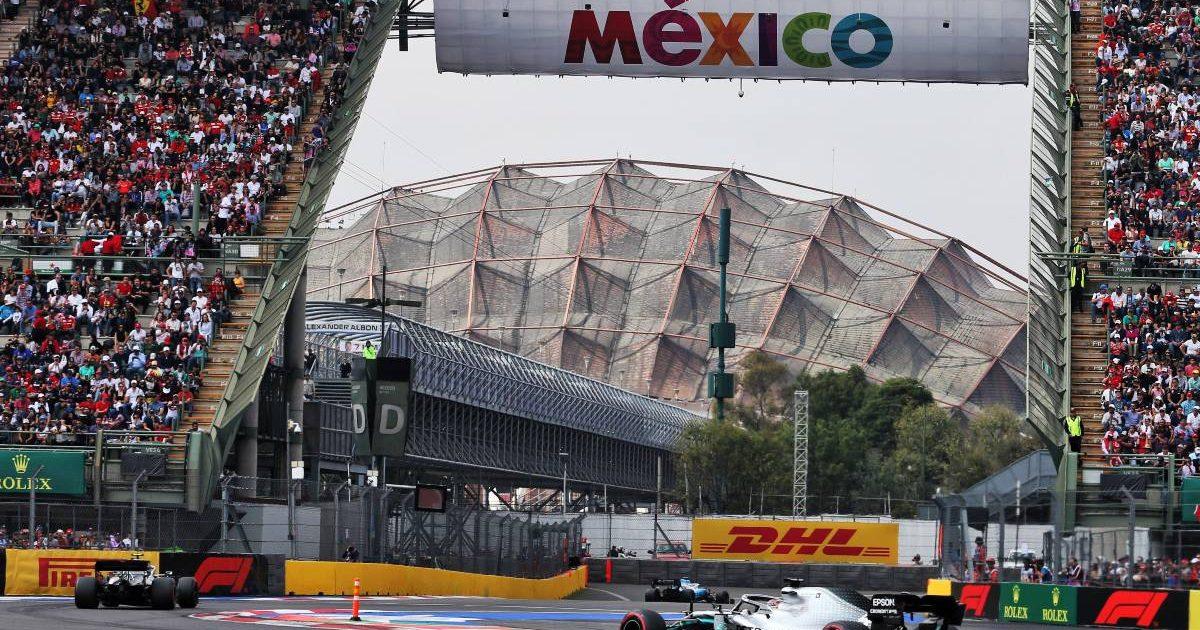 Lewis Hamilton 2019 Mexico Grand Prix