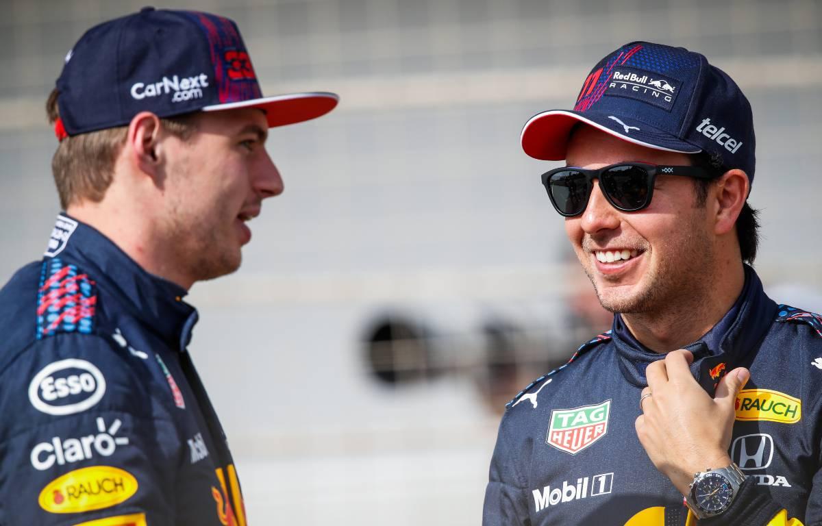 Max Verstappen Sergio Perez