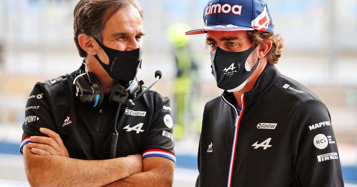 Davide Brivio Fernando Alonso