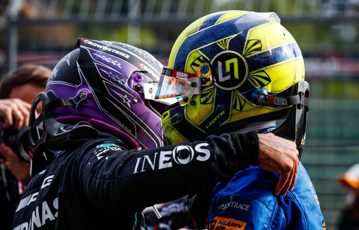 Lewis Hamilton Lando Norris