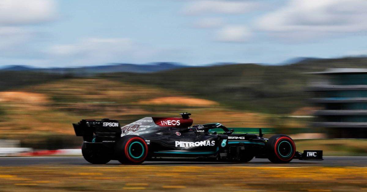 Lewis Hamilton, Mercedes, 2021 Portuguese Grand Prix qualifying