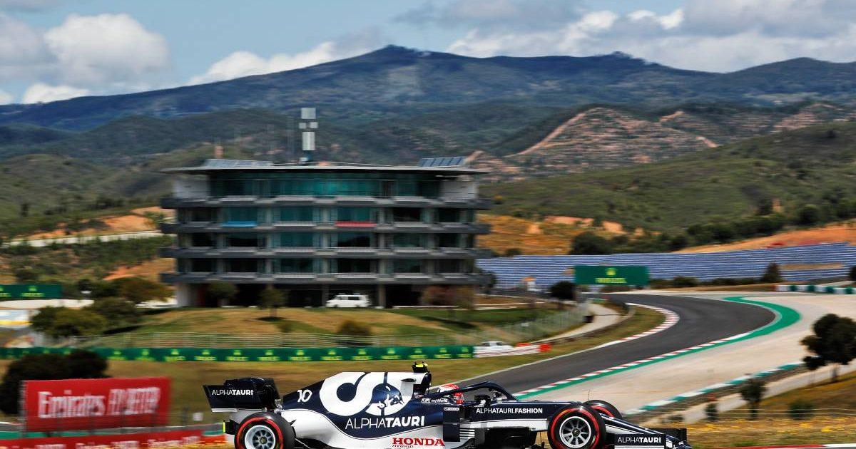 Pierre Gasly, AlphaTauri, 2021 Portuguese Grand Prix qualifying