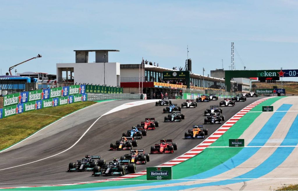 2021 Portuguese Grand Prix start