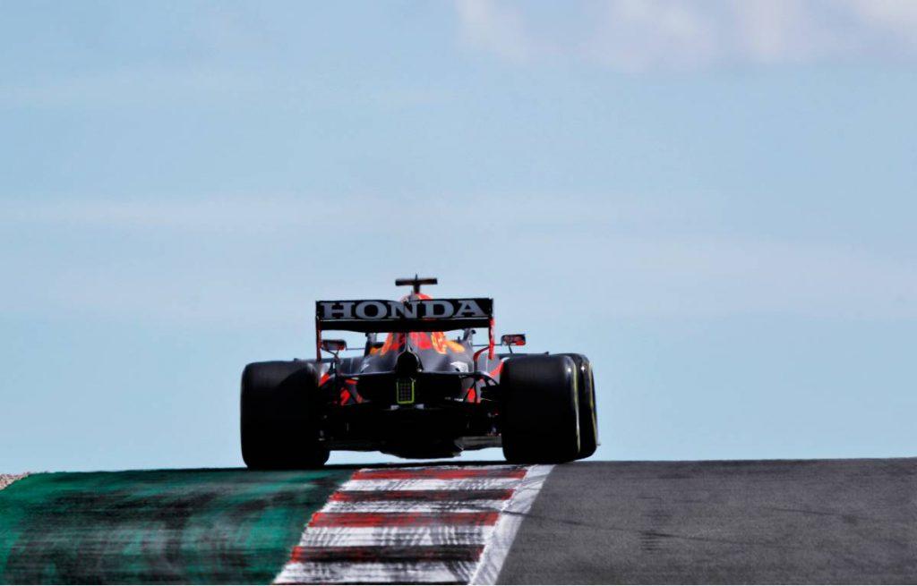Max Verstappen, 2021 Portuguese Grand Prix qualifying