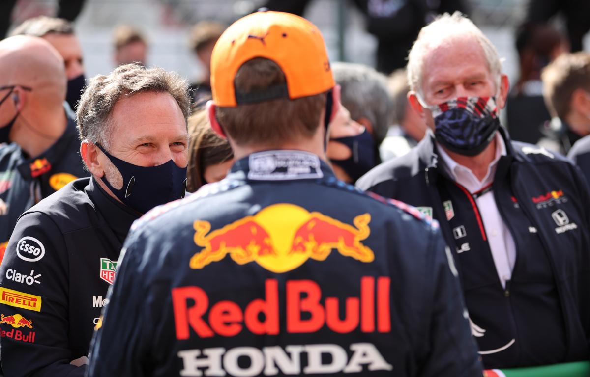 Max Verstappen Christian Horner Helmut Marko