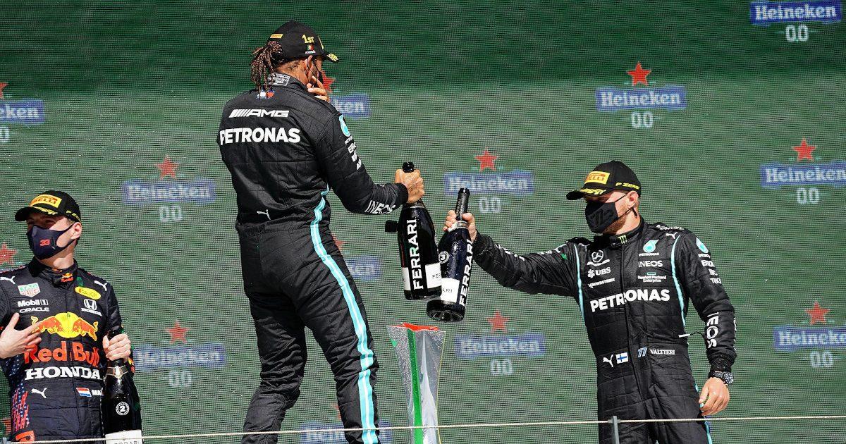 Portuguese GP podium 2021
