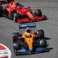 Lando Norris Carlos Sainz McLaren Ferrari