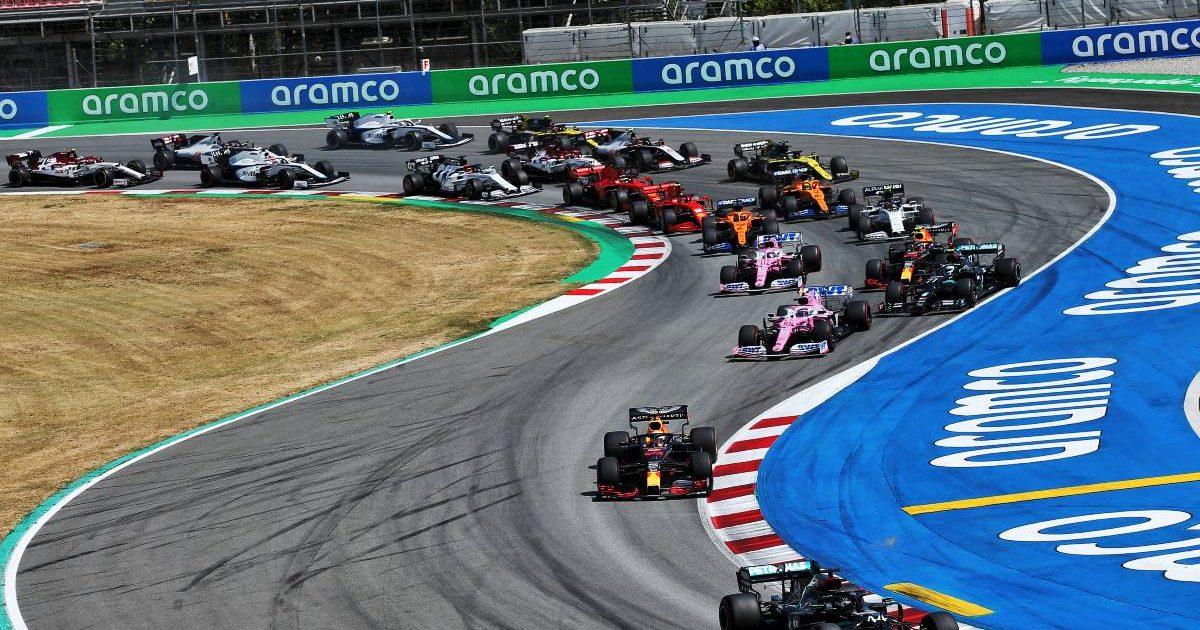 2020 Spanish Grand Prix start