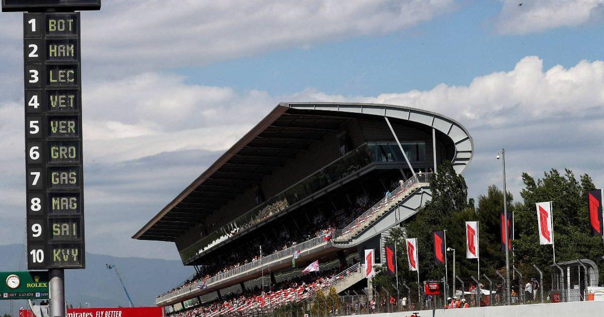 Circuit de Catalunya grandstand