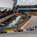 Start of the 2020 British Grand Prix at Silverstone