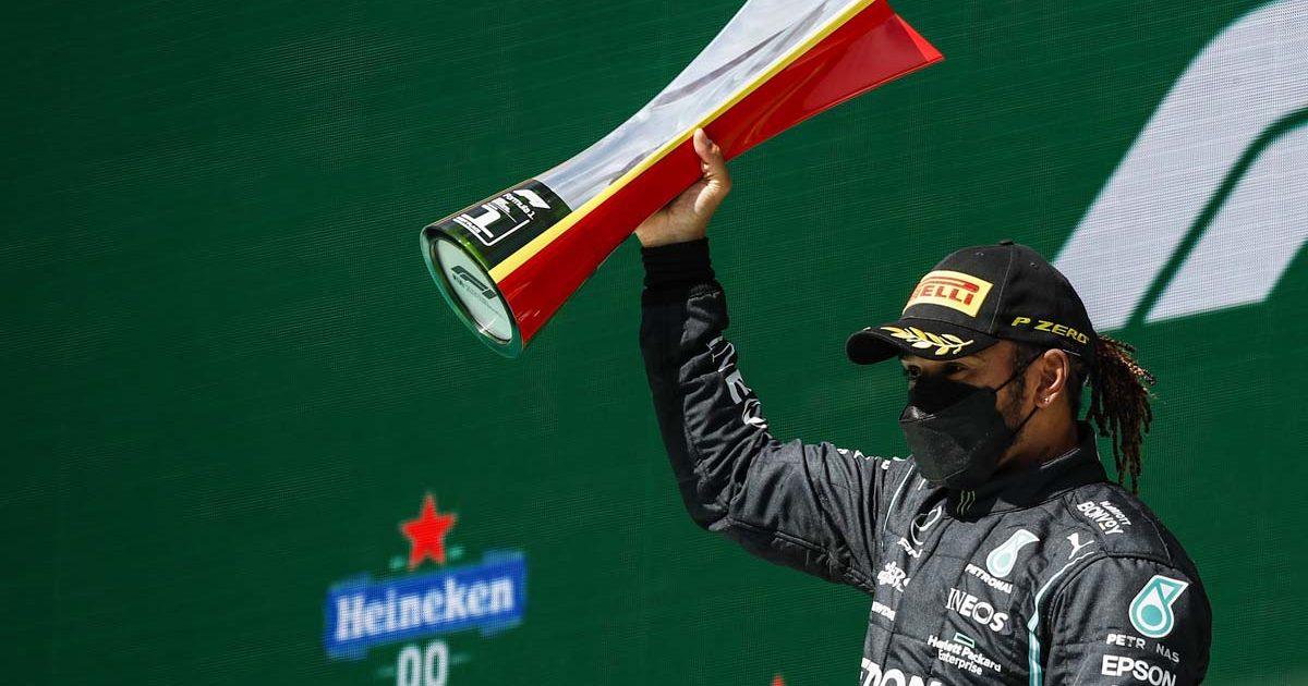 Lewis Hamilton, Mercedes, 2021 Portuguese Grand Prix Portimao