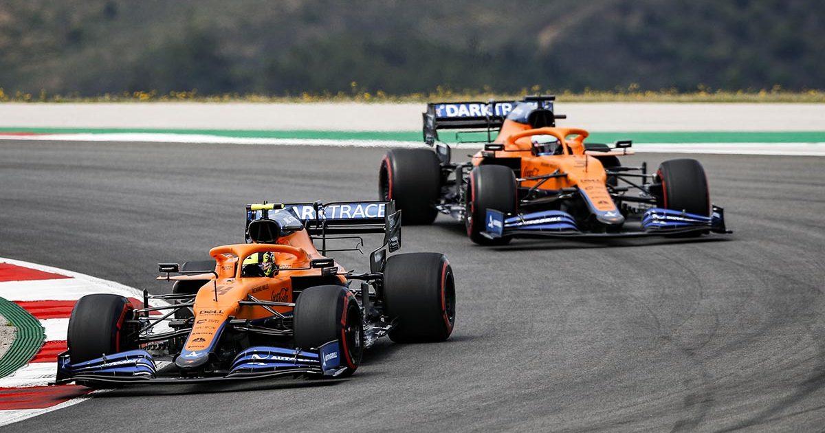Daniel Ricciardo Lando Norris McLaren