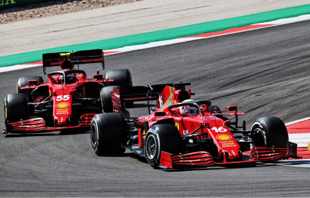Charles Leclerc Carlos Sainz Ferrari