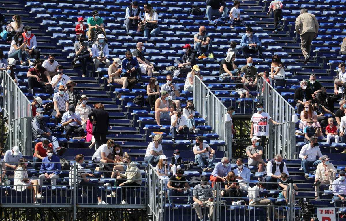 Monaco Grand Prix fans PA