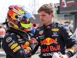 Max Verstappen and Sergio Perez