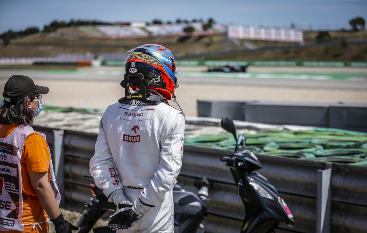 Kimi Raikkonen DNF Portugal