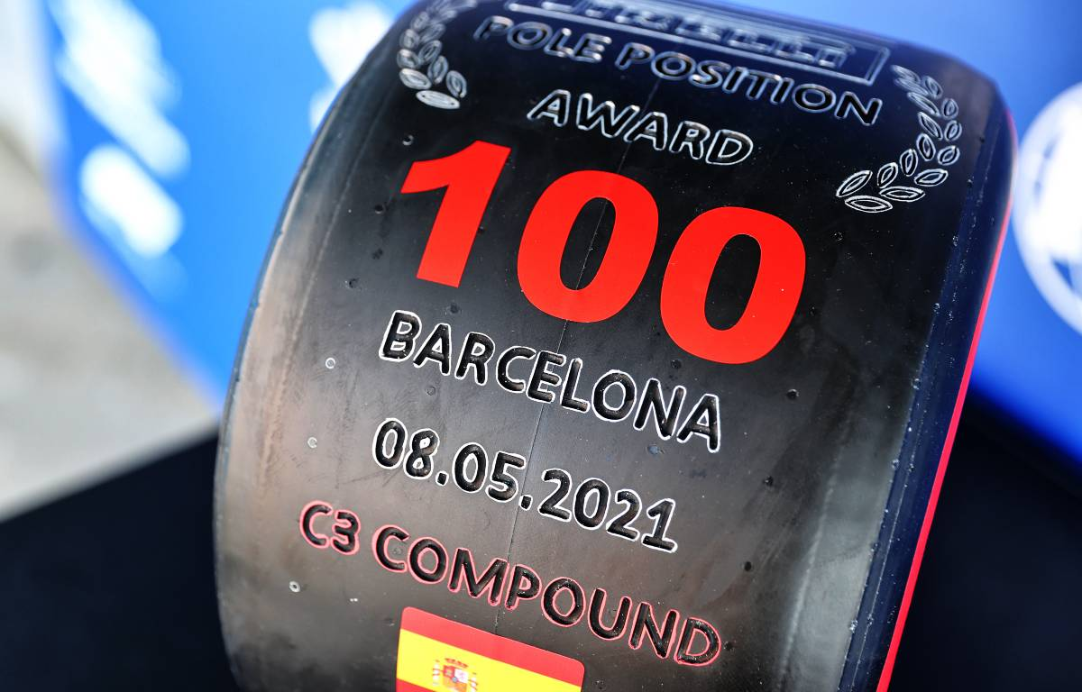 Lewis Hamilton 100th pole award