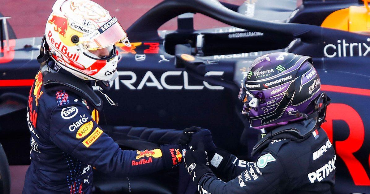 Max Verstappen congratulations Lewis Hamilton