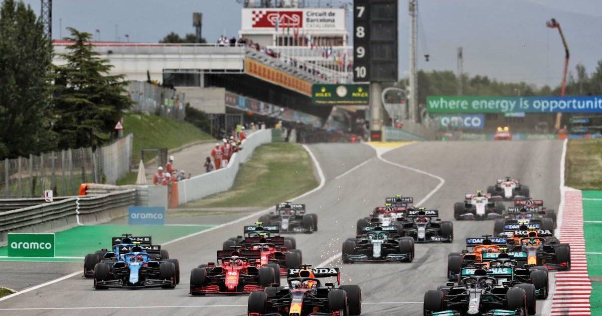 2021 Spanish Grand Prix start
