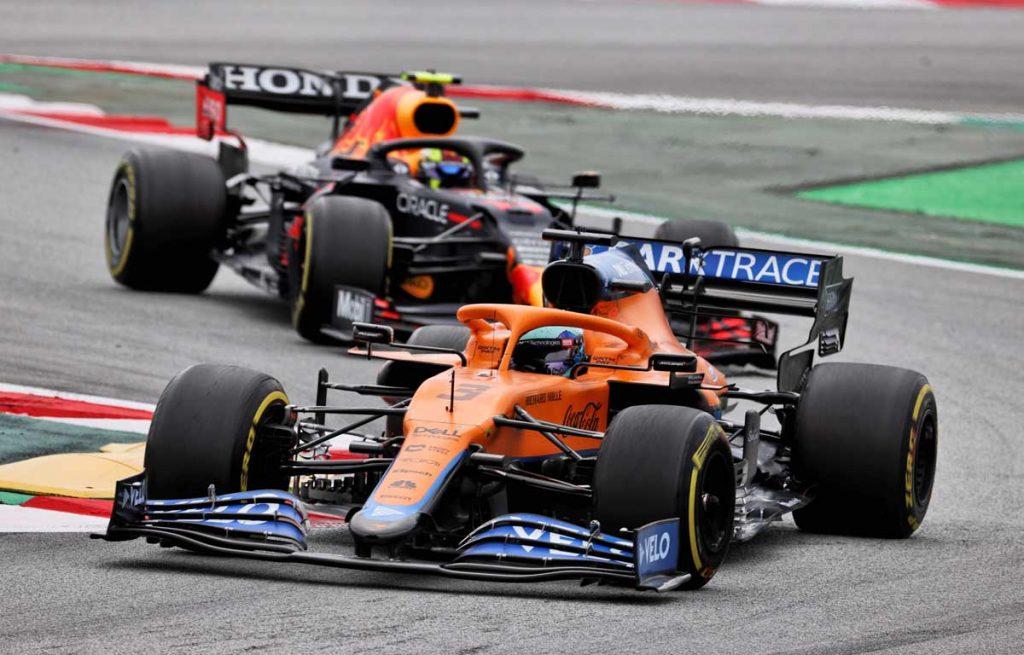 Daniel Ricciardo Spain 2021 PA