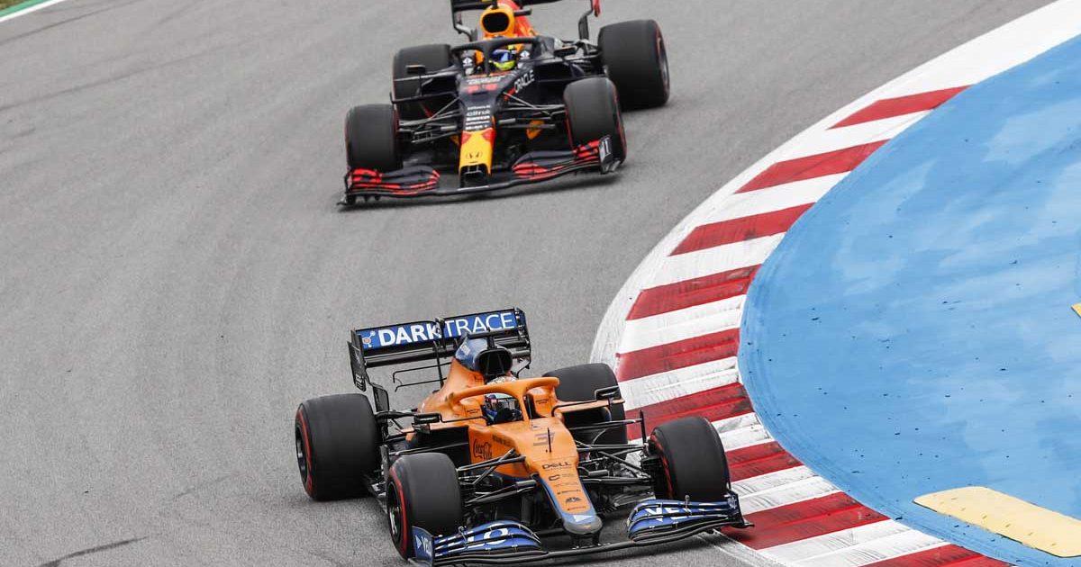 Daniel Ricciardo Sergio Perez Spain 2021 PA