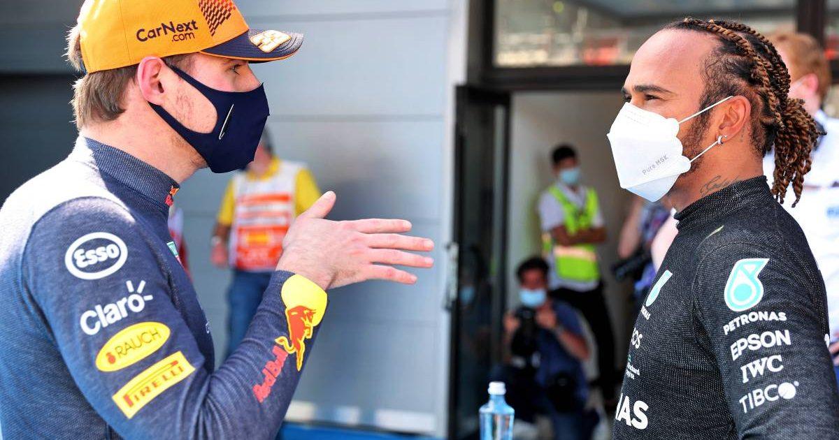 Max Verstappen Red Bull Lewis Hamilton Mercedes