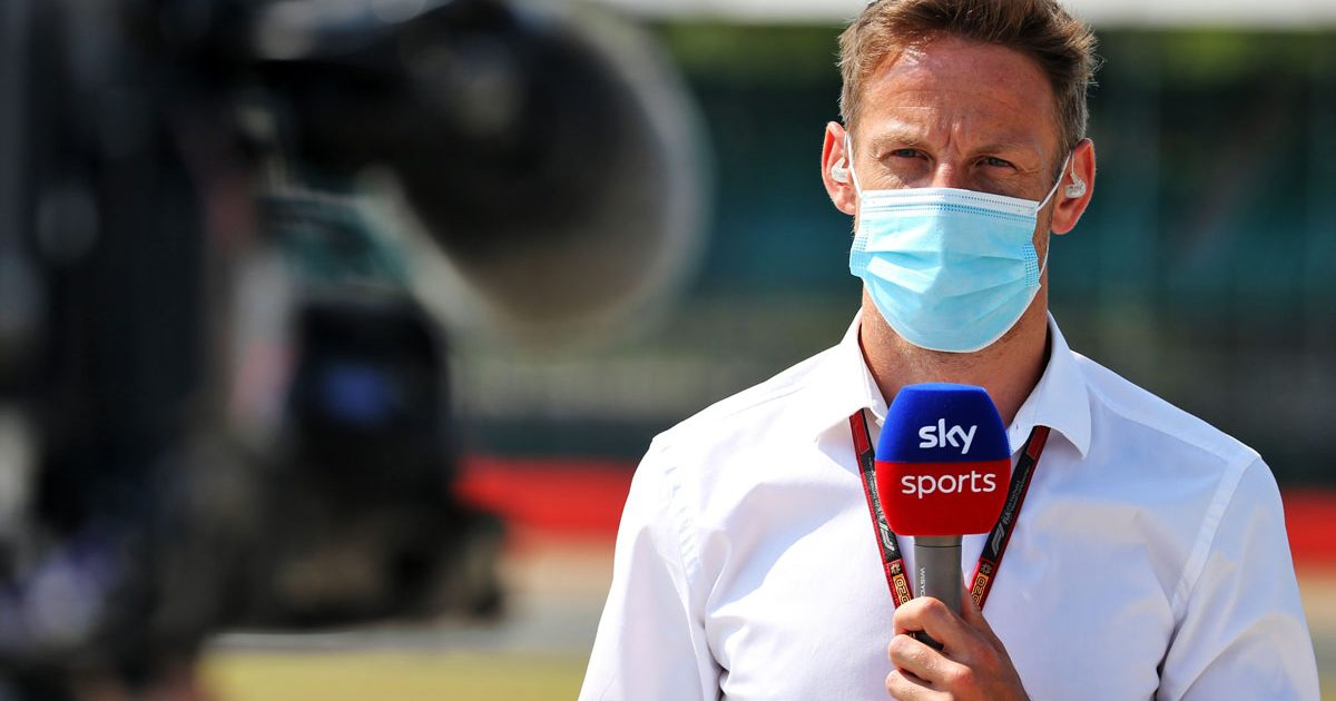 Jenson Button Sky PA