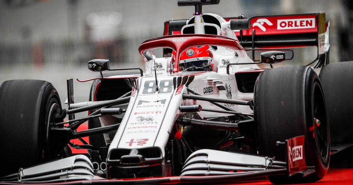 Robert Kubica 18 inch Pirelli tyres