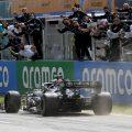 Lewis Hamilton Mercedes win