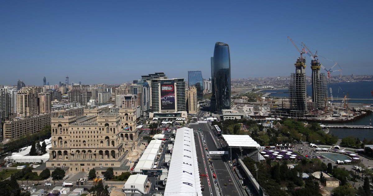 Baku City Circuit Azerbaijan Grand Prix FIA