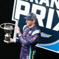Romain Grosjean P2 GMR GP IndyCars