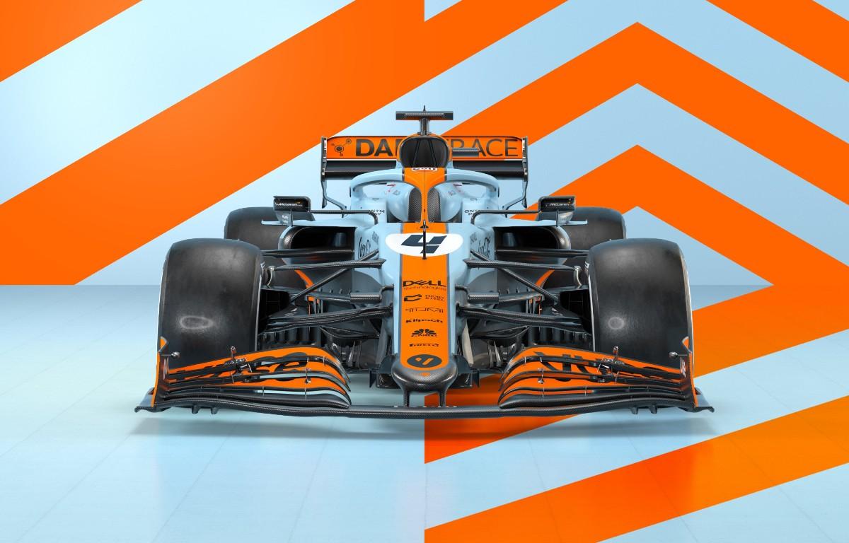 McLaren Gulf Monaco 2021 livery