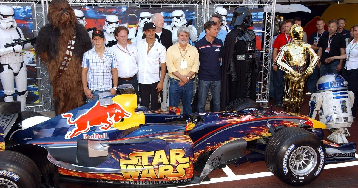 Red Bull Star Wars car