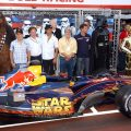Red Bull Star Wars car