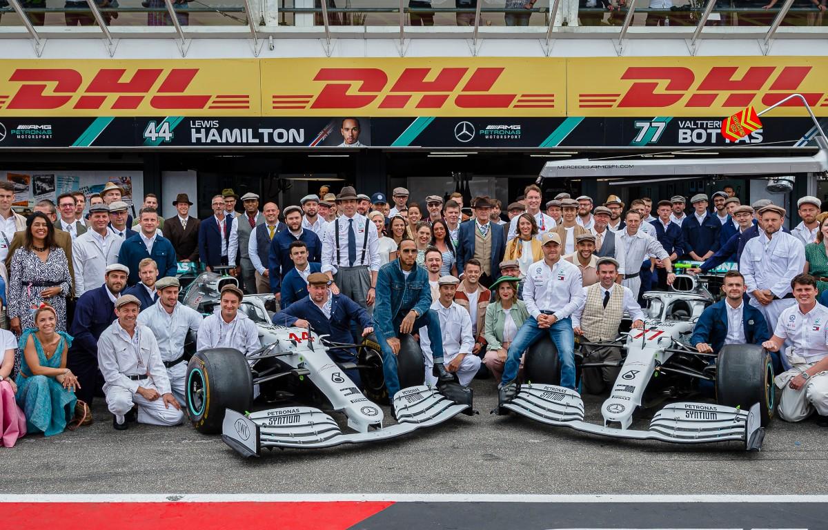 Grand Prix d'Allemagne Mercedes 2019