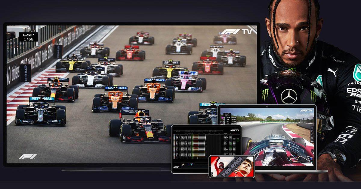Lewis Hamilton F1TV Pro