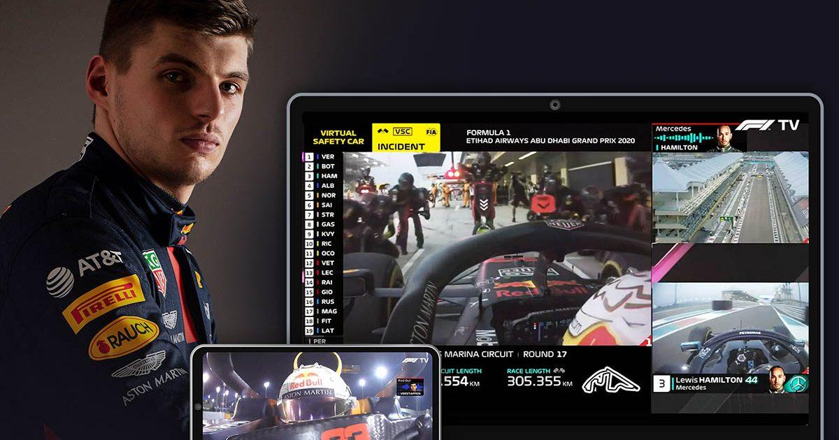 Max Verstappen F1 TV