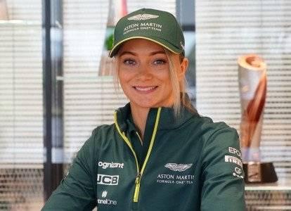 Jessica Hawkins, Aston Martin driver ambassador
