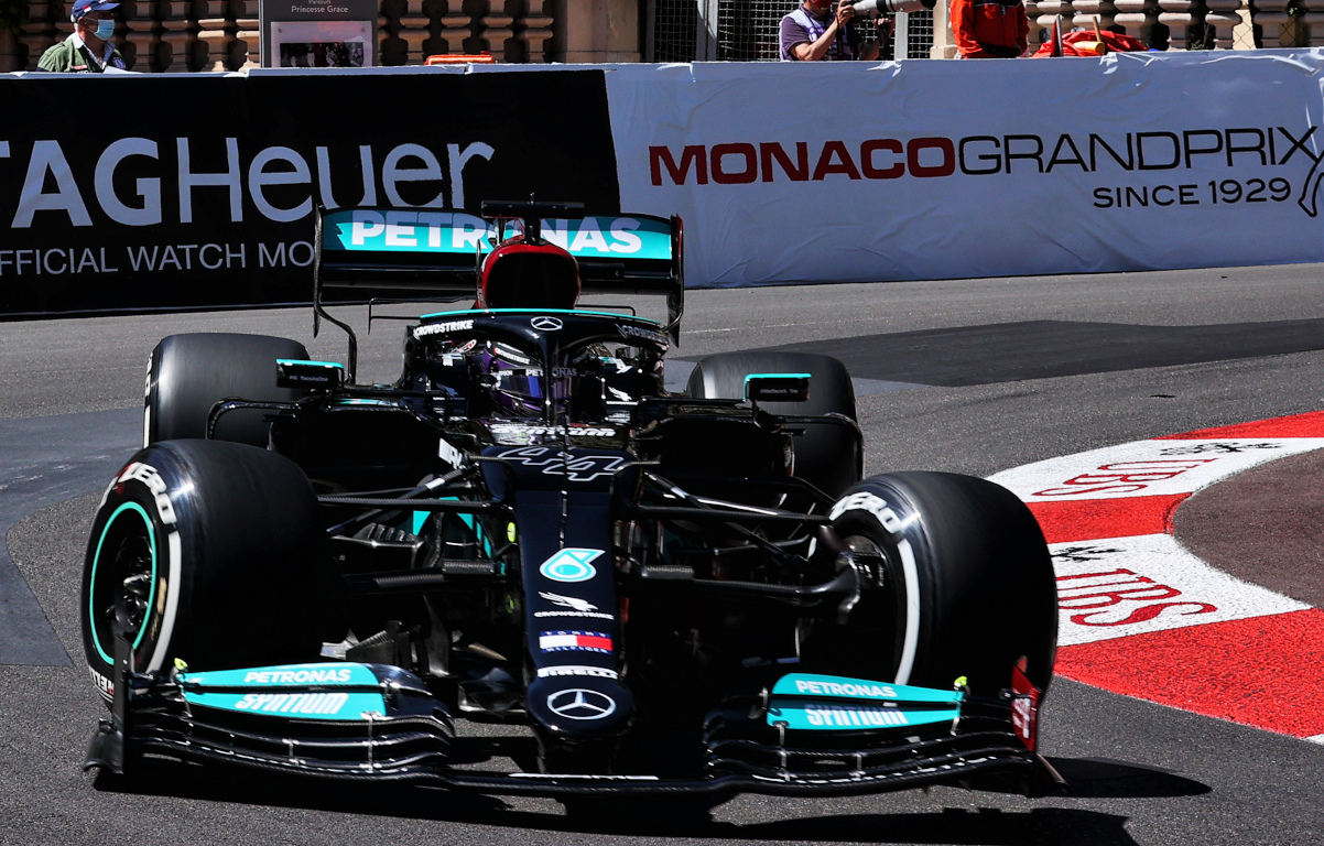 Lewis Hamilton Monaco