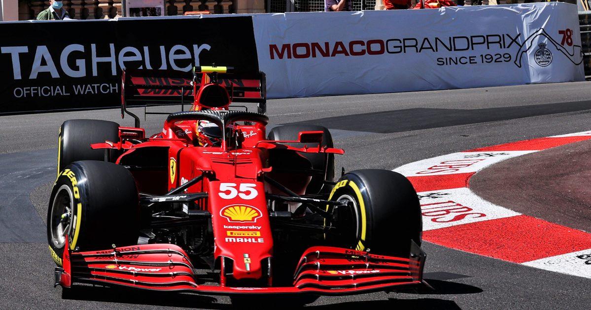 Carlos Sainz Ferrari Monaco